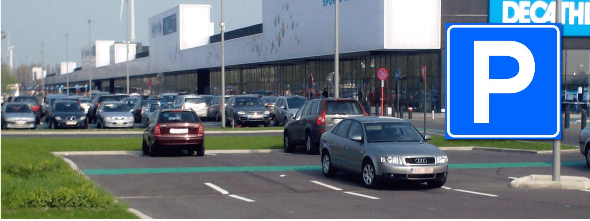 stationnement sans barrières