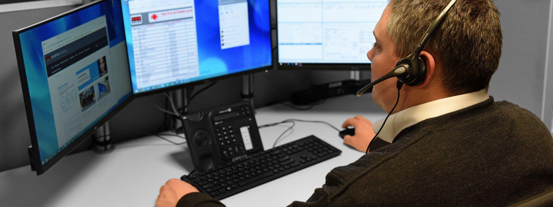Efficientere alarmopvolging header Securitas